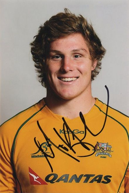 Michael Hooper, Australia, signed 6x4 inch photo.